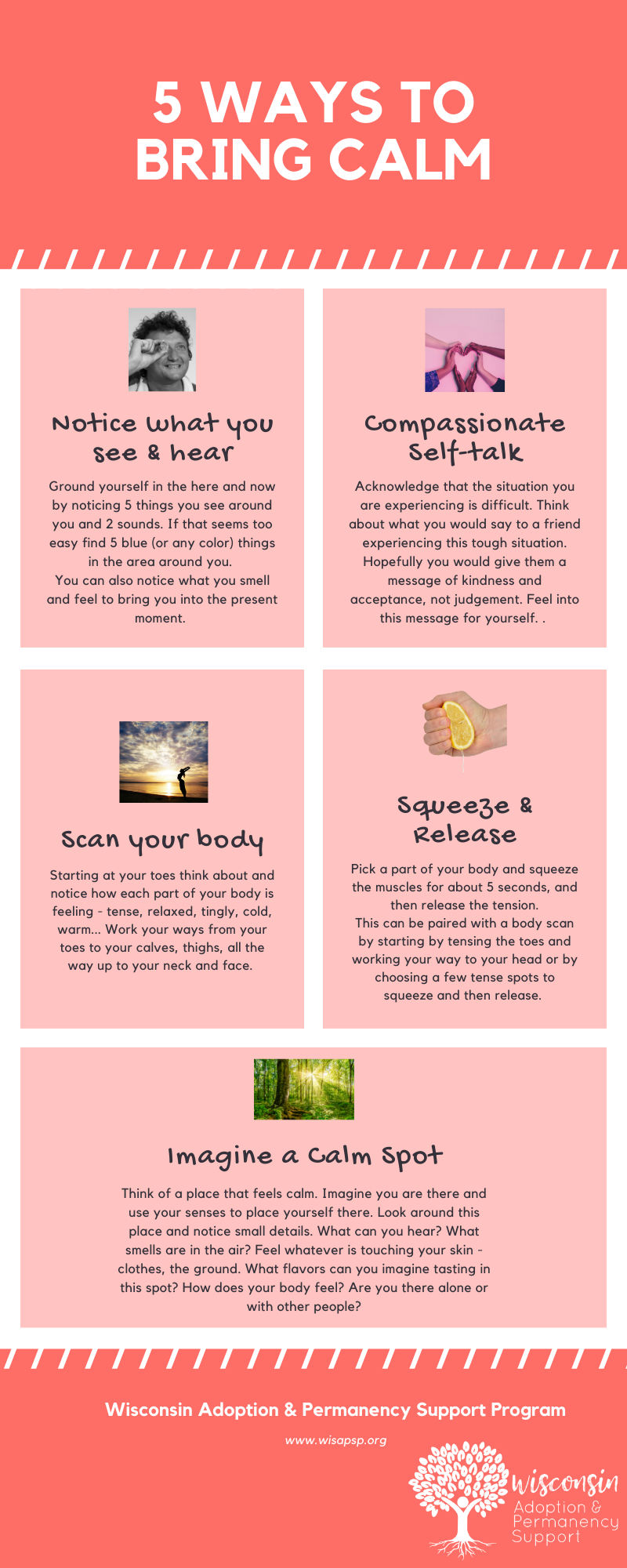 5 Ways to Bring Calm